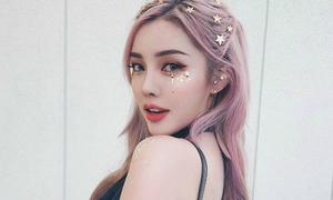 Mốt trang điểm lấp lánh cực 'ăn chơi' hot từ Á sang Âu