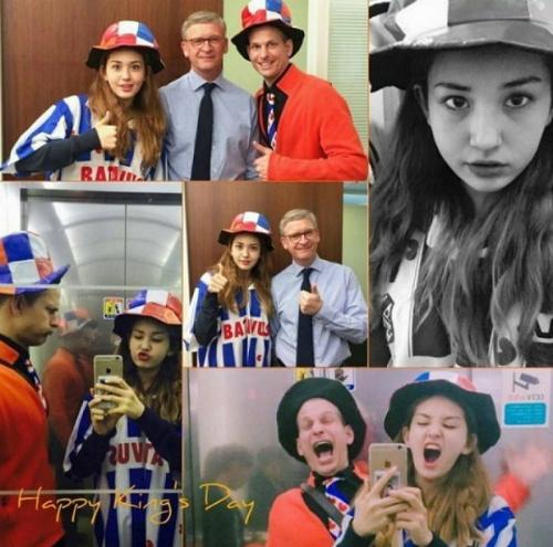 Những sao Hàn là fan cuồng nhiệt của bóng đá - 1