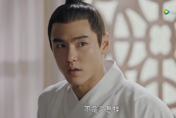 Nguyễn Kinh Thiên trong vai Trưởng Tôn Vô Kỵ