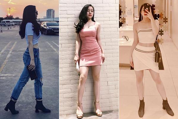 Trên trang cá nhân, cô nàng thường xuyên khoe dáng trong những bộ đồ quyến rũ vượt bậc so với tuổi.