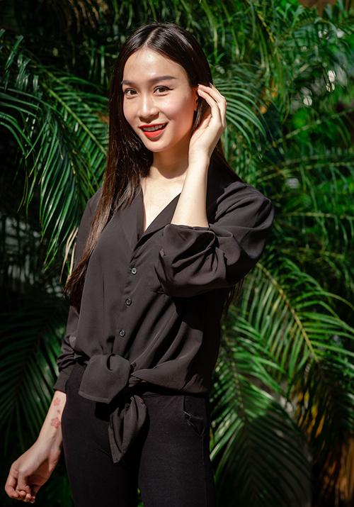 Gương mặt đặc biệt nhất đến casting show Hà Duy là người đẹp chuyển giới Bảo Anh, cao 1m77.