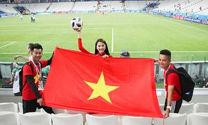 Trải nghiệm 'nhớ đời' của Top 10 HHHV Ngọc Nữ khi sang Nga xem World Cup