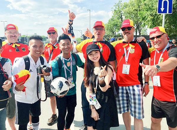 Chuyến tàu không điện, không nước, không đồ ăn, không sóng điện thoại... Là trải nghiệm khó quên của Nữ tại nước Nga, Nhưng vì tình yêu với trái bóng, vì lá cờ Việt Nam được phất lên khắp các sân vận động Nữ sẽ vượt qua hết.