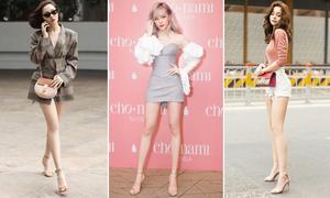 10 sao Việt 'chân không quá dài vẫn đẹp như người mẫu'
