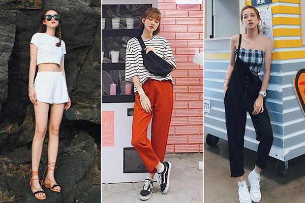 Phong cách của Mai Anh là nữ tính, trẻ trung, cập nhật rất nhanh nhạy các xu hướng dành cho giới trẻ.