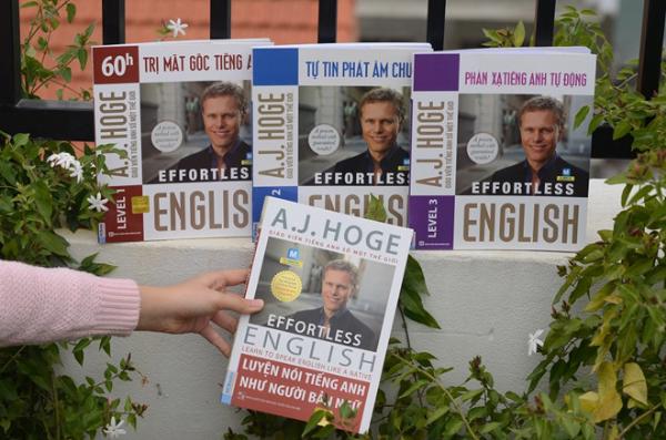 Bộ 4 cuốn sách được chính nhà sáng lập phương pháp Efortless English biên soạn.