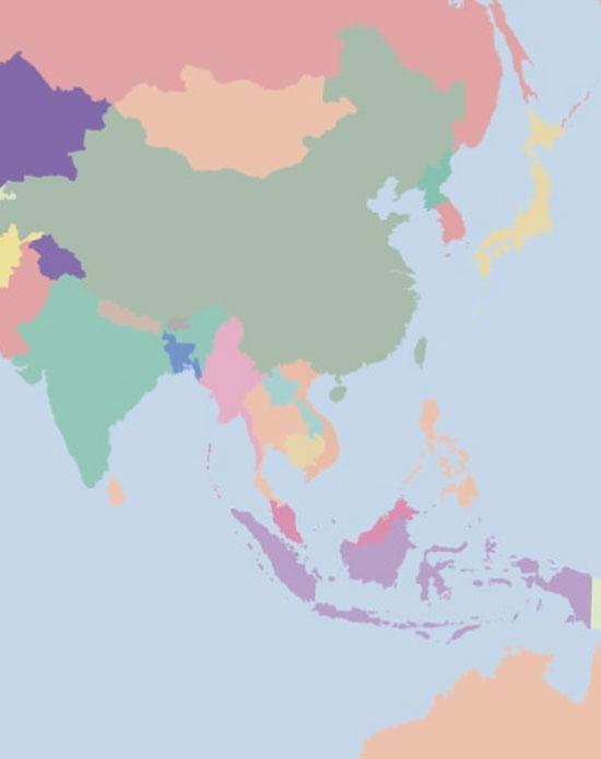 Người có IQ cao mới biết các quốc gia này nằm ở đâu? - 5