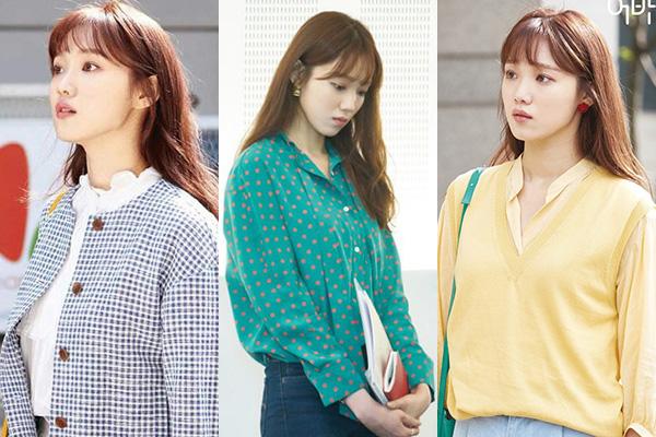 Sơ mi cũng được Lee Sung Kyung diện nhiều trong phim, tuy nhiên tất cả đều đi theo phong cách đơn giản, ít chi tiết, màu sắc tươi sáng.