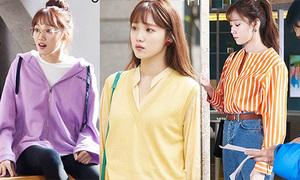 Váy áo màu kẹo ngọt 'siêu hack tuổi' của Lee Sung Kyung trong 'About Time'