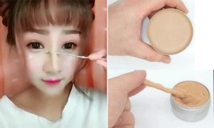 Món mỹ phẩm bí mật cho sống mũi cao vút của các hot girl Trung Quốc