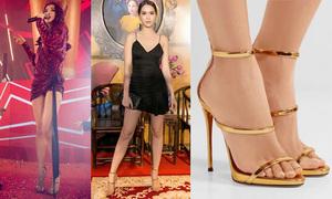 Đôi sandals đáng sắm để có chân dài như Bích Phương, Ngọc Trinh