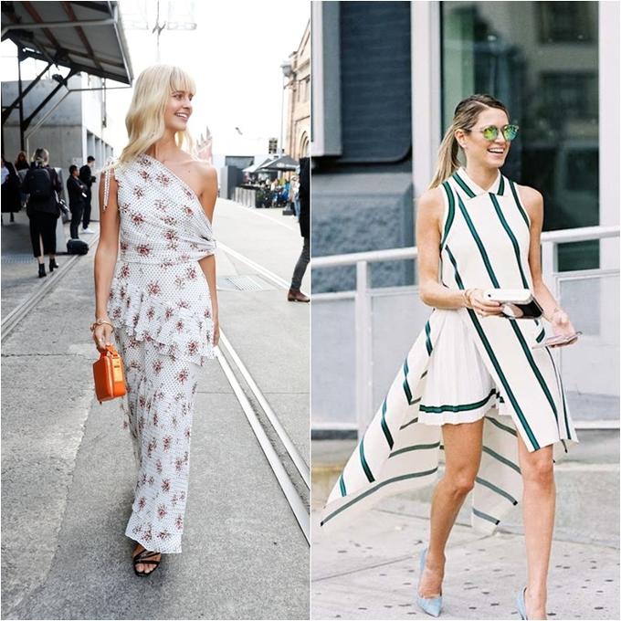 <p> Những chiếc váy có thiết kế bất đối xứng với chất liệu mỏng nhẹ sẽ giúp các bạn gái trở nên mới mẻ, mềm mại và nữ tính hơn tất thảy.</p>