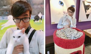 9x Việt kể chuyện gặp gỡ chú mèo điếc tiên tri nổi tiếng nước Nga