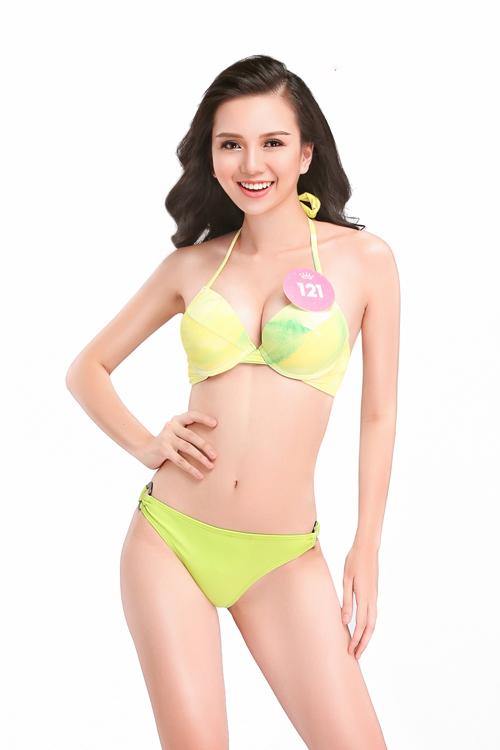 Thí sinh Hoa hậu Việt Nam 2018 nóng bỏng với bikini - 9