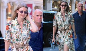 Gigi Hadid gây sốt vì quá xinh đẹp với 'chiếc váy hoàn hảo' cho mùa hè