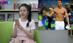 Thách thức Huyền Anh nhận diện trai đẹp World Cup