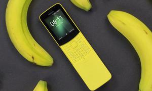 Nokia 8110 trở lại với màu vàng chuối thời thượng