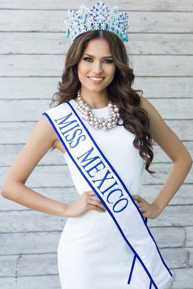 <p> Andrea Meza của Mexico.</p>