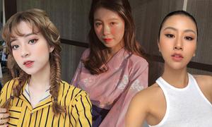 Học cách trang điểm kiểu Hàn, Nhật, Mỹ của 3 hot girl đình đám