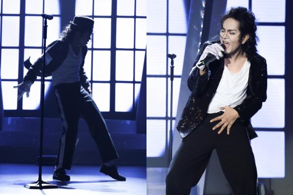 Đàm Vĩnh Hưng cúi đầu khâm phục Hùng Thuận khi nhái Michael Jackson