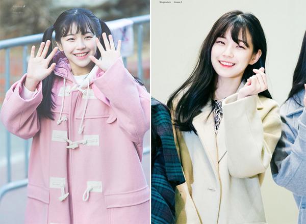 Cô nàng thường xuyên mặc những bộ quần áo cực trend và phổ biến của giới trẻ xứ Hàn. Có thể nói tủ đồ của Ji Heon cập nhập được tất cả mốt thời trang nhanh của các cô gái từ sử dụng những trang phục đơn giản nhất như quần short kaki và T- shirt cho đến những chiếc áo blazer hot hit.