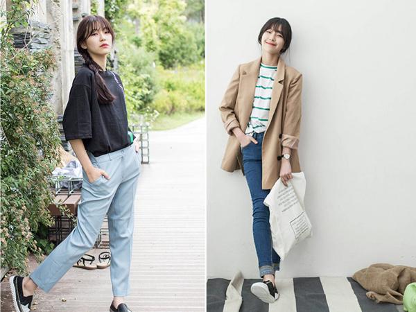 Để làm tô điểm cho nét đáng yêu của mình, Ji Heon luôn chọn những trang phục có tông màu chủ đạo là kẹo ngọt và mix với các loại áo trắng cùng đồ denim. Nhờ vẻ bề ngoài xinh xắn, cô nàng dễ dàng mặc hợp style nữ tính, trong sáng chỉ với những item đơn giản nhất.