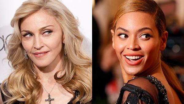 Beyonce là người mong muốn có được thành công như Madonna.
