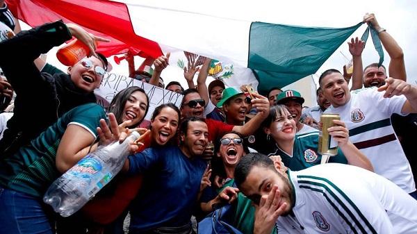 Sau động đất, CĐV Mexico còn gây náo loạn cho chính đội nhà