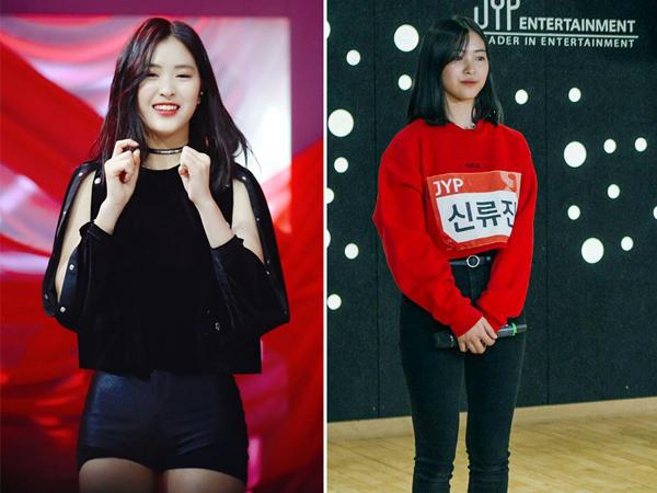 Gây chú ý nhờ tham gia show thực tế Mixnine, thực tập sinh nhà JYP Shin Ryu Jin được dự đoán sẽ là một trong nữu idol tài năng trong tương lai. Không chỉ vậy, phong cách ăn mặc đơn giản mà cá tính của cô nàng cũng là một điểm cộng trong mắt khán giả. Cô gái 15 tuổi lần đầu xuất hiện chỉ với áo sweater và skinny jeans như bao cô học sinh bình thường khác nhưng đã để lại ấn tượng lớn cho khán giả nhờ giọng rap độc đáo và tính cách giản dị.