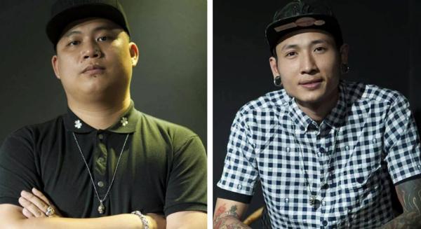 Hai nghệ sĩ xăm hình nổi tiếng Việt Nam - Gấu đen và Nam Phong.