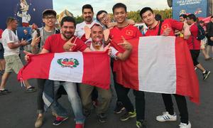Muôn vàn cách cổ vũ World Cup của du học sinh Việt ở Nga