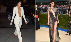 Kendall Jenner - siêu mẫu nghiện 'khoe ngực' với style táo bạo