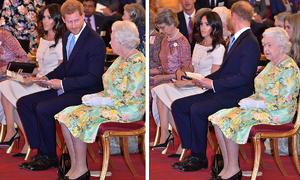 Meghan bị chỉ trích vì ngồi vắt chéo chân 'thiếu tôn trọng' Nữ hoàng
