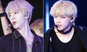 4 'nam thần' BTS gây bất ngờ khi đổi màu tóc chói lóa