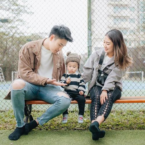 Thời điểm hiện tại, gia đình của Trang Lou - Tùng Sơn là một trong bộ ba gia đình hot nhất mạng xã hội vì sở hữu combo vừa đẹp vừa hạnh phúc.
