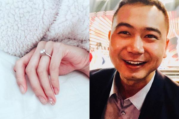 Việc tổ chức buổi cầu hôn tại không gian trên cao sang trọng, cộng thêm nhẫn cưới kim cương khủng thế này cho thấy bạn trai của Lan Khuê cũng thuộc hàng không phải dạng vừa về độ giàu có.