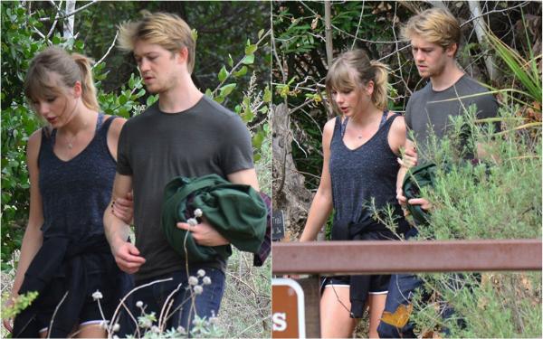 Một trong số ít lần báo chí săn được ảnh hẹn hò của Taylor và Joe.