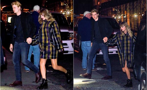 Joe luôn nhăn nhó khi bị paparazzi chụp trộm.