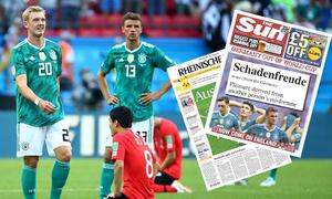Phản ứng của báo chí về 'thảm họa' đội tuyển Đức