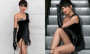 H'Hen Niê khiến khán giả nơm nớp vì lần đầu mặc váy 'xẻ cao ngút ngàn'