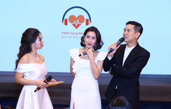 Ca sĩ Lưu Hương Giang cho biếtviệc các ông bố quan tâm chăm sóc con từ trong bụng mẹ rất quan trọng cho sự phát triển của thai nhi. Tuy nhiên, việc làm này cần sự chủ động kết nối của người mẹ.