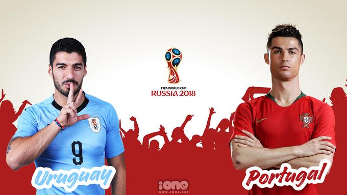 """<p> <strong>1h ngày 1/7, Uruguay vs Bồ Đào Nha: </strong>Uruguay kiêu hãnh tiến vào vòng knock-out của World Cup 2018 với thành tích là đội bóng duy nhất chưa bị thủng lưới. Tại trận đấu sắp tới tại Sochi, hàng thủ vững chắc của đội bóng đến từ Nam Mỹ sẽ gặp phải thử thách cực độ mang tên Cristiano Ronaldo. Siêu sao người Bồ đang thể hiện phong độ tuyệt vời và sẵn sàng """"làm tội làm tình"""" bất kỳ hàng thủ nào tại World Cup lần này.</p>"""