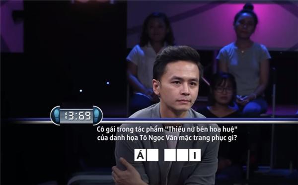 Văn Anh bó tay trước câu hỏi... không khó.