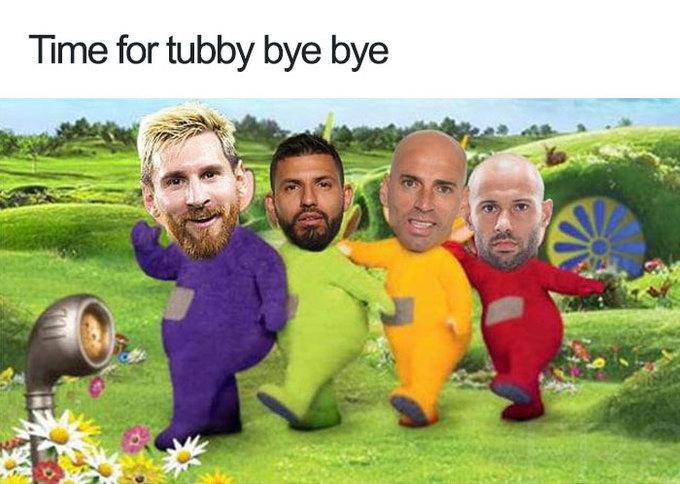<p> Cùng gửi lời chào tạm biệt nào...</p>