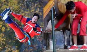 H'Hen Niê phấn khích vắt sữa bò, đu dây mạo hiểm ở New Zealand