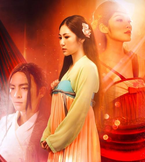 Hình ảnh cổ trang trong MV của Hương Tràm.