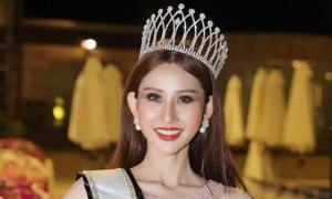 Chi Nguyễn đăng quang Hoa hậu châu Á Thế giới dù bị chơi xấu