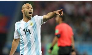 Sao Argentina thành 'vua thẻ phạt' tại World Cup 2018
