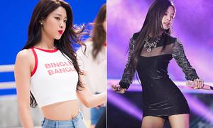 Top 10 idol Hàn có body nóng bỏng nhất Kpop