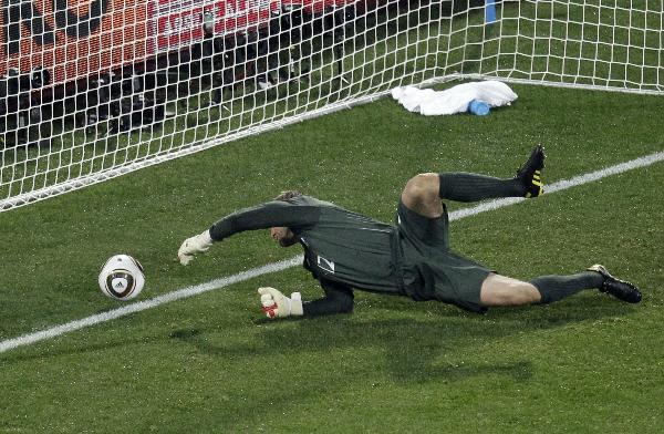 Sai lầm ngớ ngẩn của thủ thành Green tại World Cup 2010.
